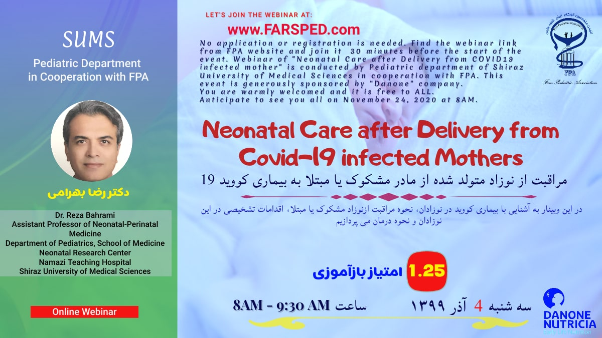Neonatal Care after delivery from COVID19 infected Mother